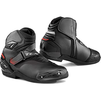 TCX Vibe Air Black High Performance Street Motorcycle Boots Mens Size 8.5