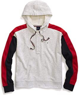 Tommy Hilfiger Women's Adaptive Hoodie Sweatshirt with Magnetic Buttons