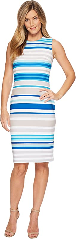 Calvin Klein - Striped Sheath Dress CD8MBV6N