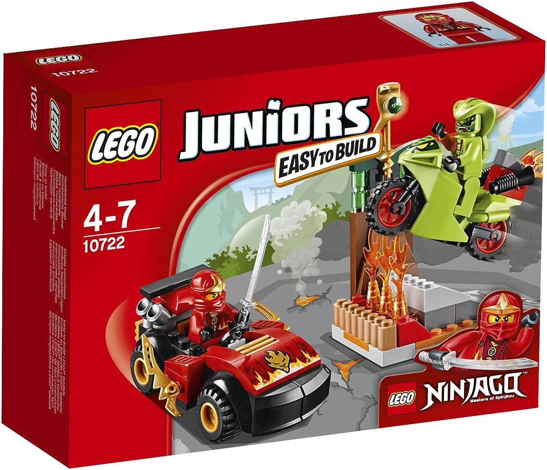 LEGO Juniors 10722 - Schlangenduell, Spielzeug für 4 Jhrige