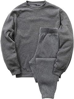 [Nutopia] スウェット パジャマ 裏起毛 上下セット 秋冬 ルームウェア ゆったり 男女兼用 部屋着 セットアップ