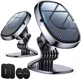 Paquete de 2 unidades 【6 imanes fuertes】 Soporte magnético para teléfono celular universal para salpicadero de coche, rota...