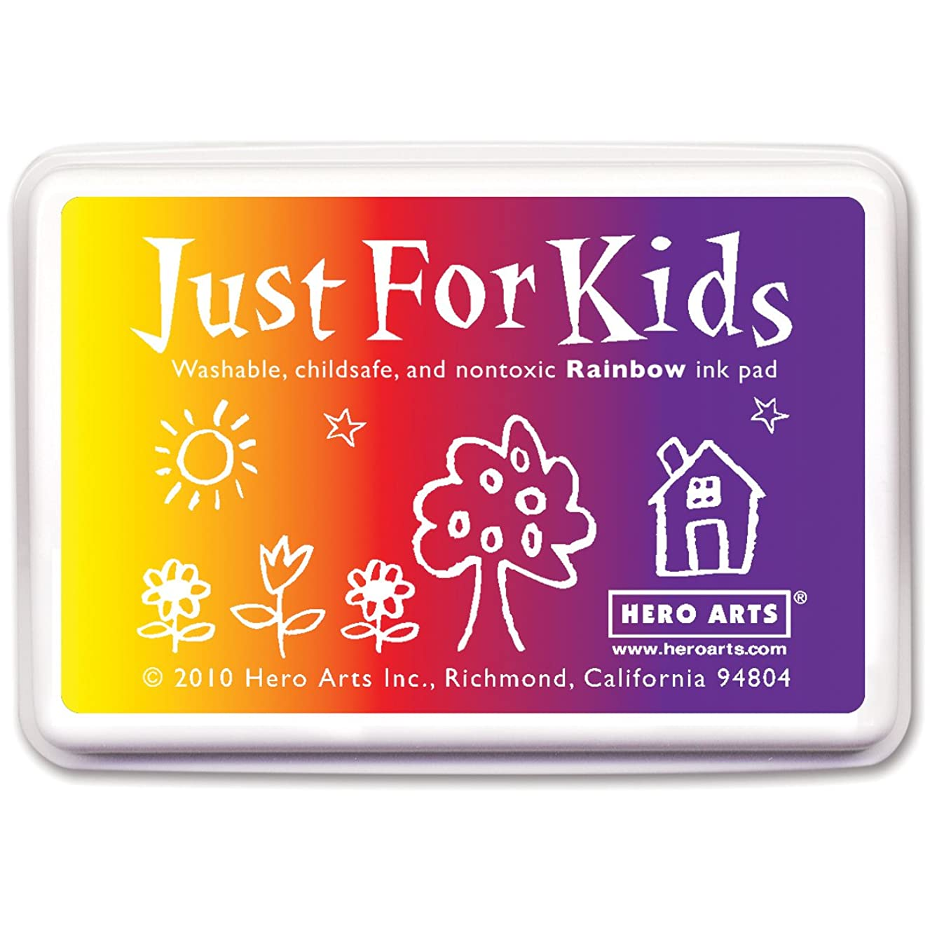 Hero Arts Rubber Stamps Just for Kids, Rainbow