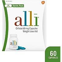 60-Count alli Diet Weight Loss Supplement Pills Starter Pack