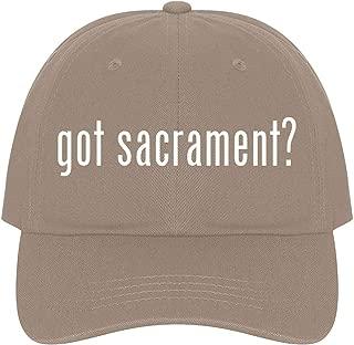 The Town Butler got Sacrament? - A Nice Comfortable Adjustable Dad Hat Cap