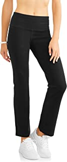 Athletic Works Women's Straight Leg Pant: Avaliable in Regular & Petite