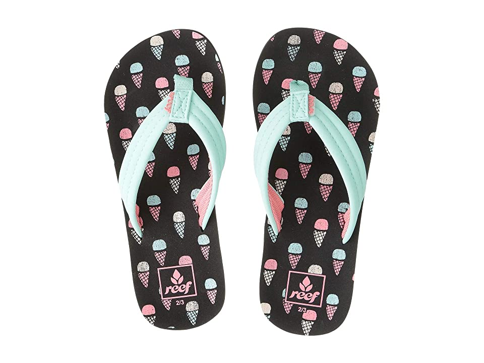 Reef Kids Ahi (Little Kid/Big Kid) (Ice Cream) Girls Shoes