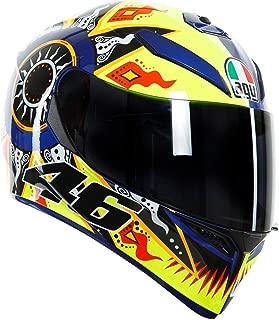 AGV K3 SV Full Face Motorcycle Helmet - Rossi 2002 - XS
