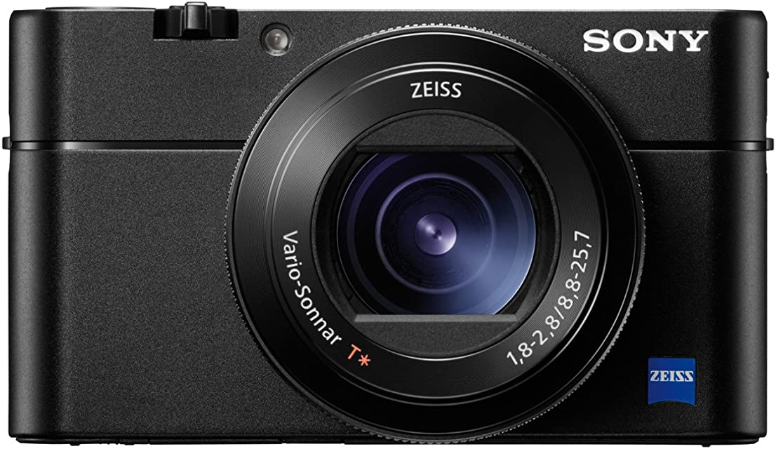 Sony DSCRX100M5.CE3- Cámara compacta (20.1 MP AF híbrido de 0.05s vídeo 4K Sensor CMO 960fps Lente Zeiss) Color Negro