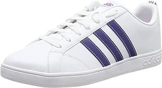 Adidas Vs Advantage, Women's Tennis Shoes, White (Ftwr White/Mystery Ink F17/Shock Purple), 4.5 UK (37 1/3 EU),Bb9620
