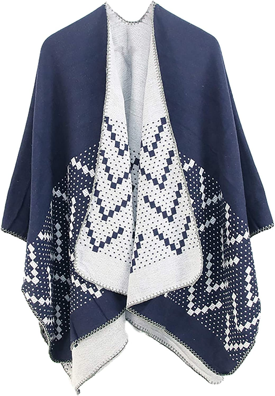 Women Outwear Winter Warm Superlatite Blanket Oversized 2021 Wraps Printing