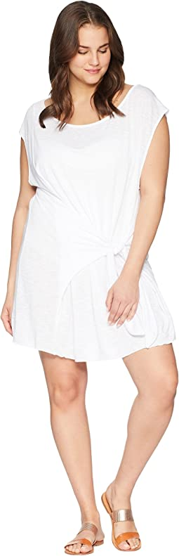 BECCA by Rebecca Virtue Plus Size Breezy Basics Dress Cover-Up