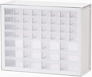 IRIS USA, Inc DPC-44 44 Drawer Sewing and Craft Parts Cabinet, White