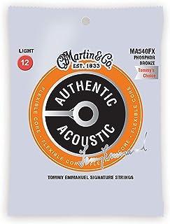 MA-540FX Light Authentic Acoustic Flex Core Strings 12-54