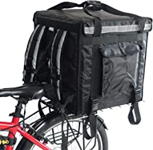 """PK-92V: Large Rigid Heavy Duty Food Delivery Box for Motorcycle, Top Loading, 18"""" L x 18"""" W x 18"""" H"""