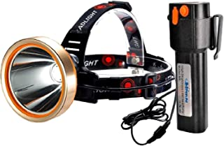 Headlamp,Best 18000mAh Rechargeable Headlamp LED Flashlight,HMAN 6000 Lumens Waterproof Headlight Searchlight,Hardhat Work...