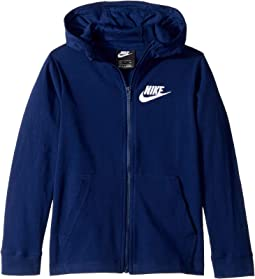 fbf3e6ea04b1 Nike Kids. Therma Full Zip Graphic Training Hoodie (Big Kids).  35.00MSRP    50.00. Blue Void White