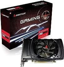 Biostar Radeon RX 550 4GB GDDR5 128-Bit DirectX 12 PCI Express 3.0 x16 DVI-D Dual Link, HDMI, DisplayPort, Gaming Edition (640SP)