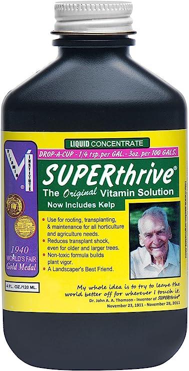SUPERthrive The Original Vitamin Solution Liquid Concentrate, 4 oz