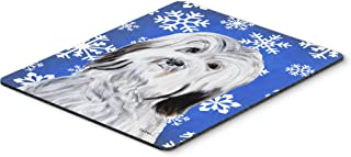 Caroline's Treasures Havanese Winter Snowflakes Mouse Pad/Hot Pad/Trivet (SC9785MP)