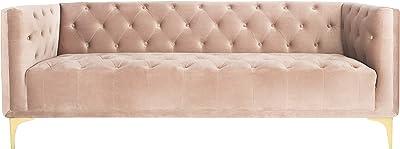 Amazon.com: Diamante muebles crawfordsodg Crawford tela sofá ...