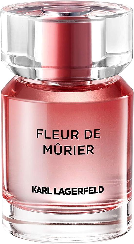 Karl lagerfeld fleur de murier,eau de parfum,profumo per donna,50 ml KL008A54