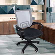 Office Chair Gaming Computer Chairs Mesh Back Executive Seating Study Seat Grey