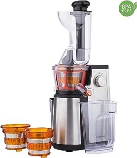 comprar comparacion Licuadora para Frutas y Verduras de Prensado en Frío, Extractor de Jugos, Multifunciones, Boquilla Extra Grande, 1 Litro, ...