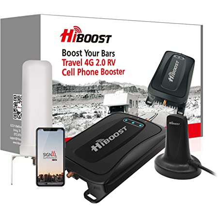 Sprint -15K Smart Link Compatible with AT/&T T-Mobile Verizon FT Supports up to 15,000 SQ HiBoost Cell Phone Signal Booster Signal Extender Cellular Booster Signal Amplifier for Home Office