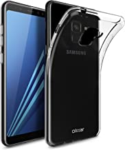 Olixar for Samsung Galaxy A8 Clear Case - Slim Gel TPU - Ultra Thin - Protective Cover - Flexible - Transparent - Wireless Charging Compatible - Crystal Clear