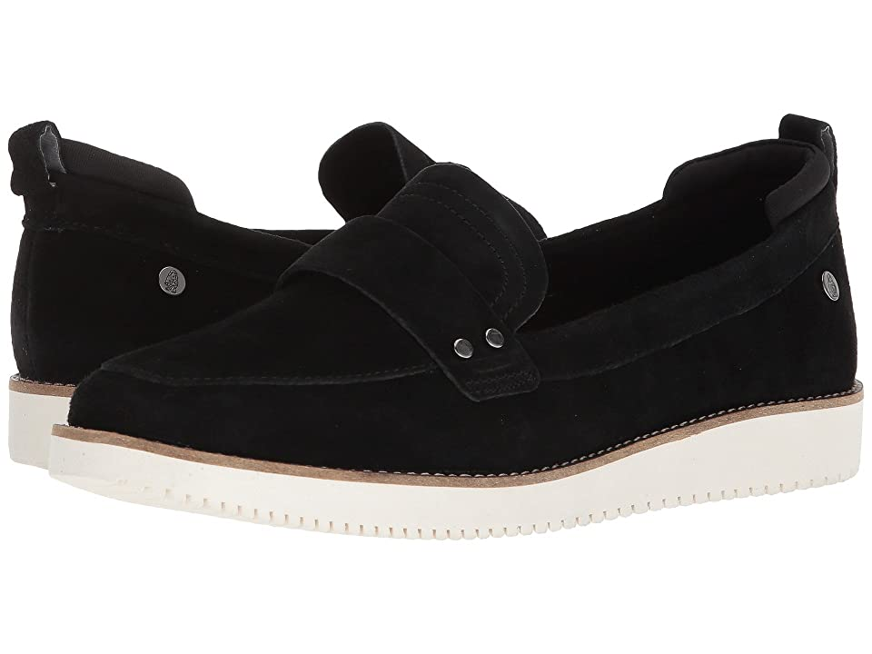 Hush Puppies Chowchow Loafer (Black Suede) Women