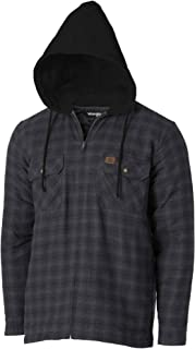 Wrangler Riggs Workwear Men's Hooded Flannel Work Jacket