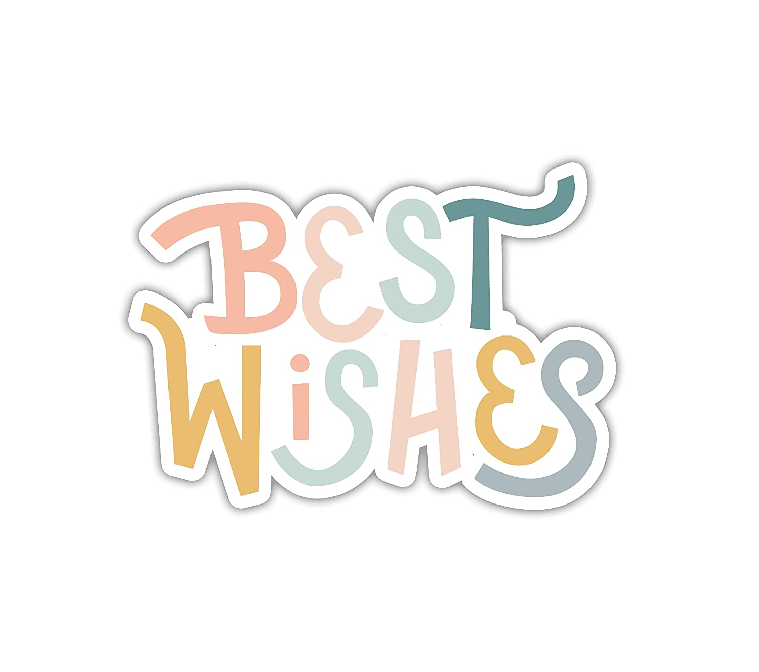 Max 87% OFF Best Wishes Sticker Laptop Phone Bottle Water Industry No. 1