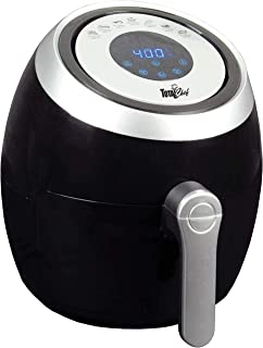Total Chef TCAF03 3.6 Liters Air Fryer 1500 Watts, Oil-Free Healthy Cooking with 7 Pre-Set Menu, Digital Display and Touch...