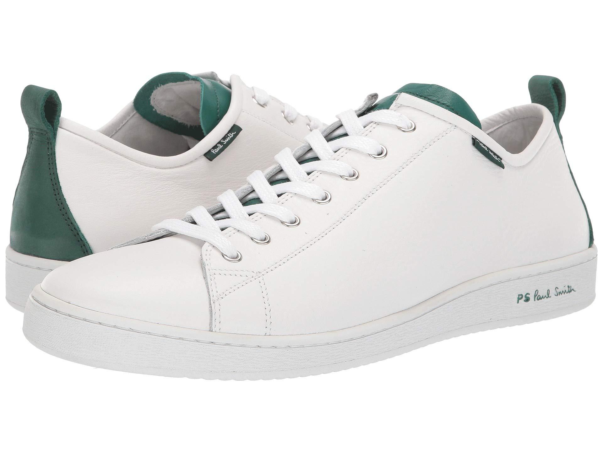 Paul Smith Sneaker Miyata green White 0a0qrBwY