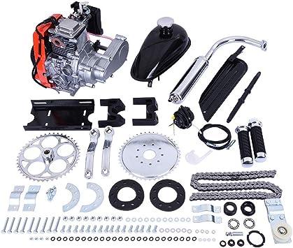 49cc Bicycle Engine Kit 4-Stroke Pull Start Gas Petrol Conversion Kit For Bike