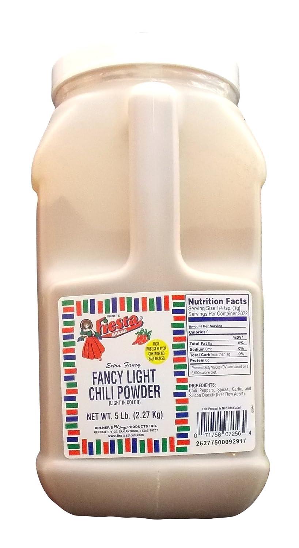 Bolner's Fiesta Superior Los Angeles Mall Fancy Light 5 Powder Chili Lb.