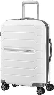 SAMSONITE Flux - Spinner 55/20 Expandable Hand Luggage, 55 cm, 44 liters, White