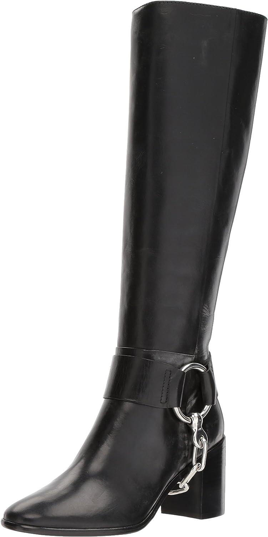 Frye Womens Julia Harness Chain Tall Harness Boot