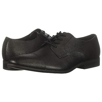 Calvin Klein Langston (Black Small Tumbled Leather) Men