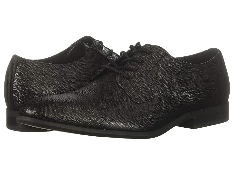 Calvin Klein Langston (Black Small Tumbled Leather) Men