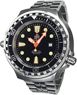 Sponsored Ad - Big Size Diver Watch - WR 100bar - Stainless Steel Band T0300M