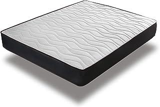 Home Heavenly® - Colchón viscoelastico Matt Reversible y Transpirable 16 cm de H (90_x_190_cm)
