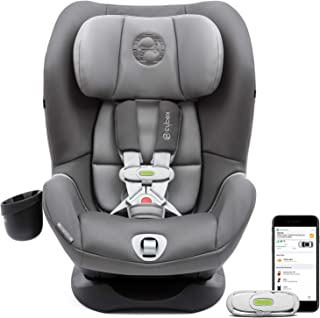 CYBEX Sirona M with SensorSafe Convertible Car Seat, 5-Point Harness Chest Clip with Built-in Sensor, LSP: Linear Side-Impact Protection, Latch System, Fits Infants and Toddlers from 5-65 lbs