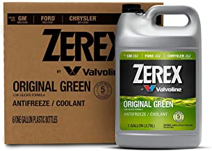 Zerex Original Green Antifreeze/Coolant 1 GA, Case of 6