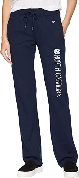 North Carolina Tar Heels University Fleece Open Bottom Pants