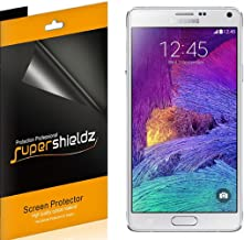 (6 Pack) Supershieldz for Samsung Galaxy Note 4 Screen Protector, High Definition Clear Shield (PET)