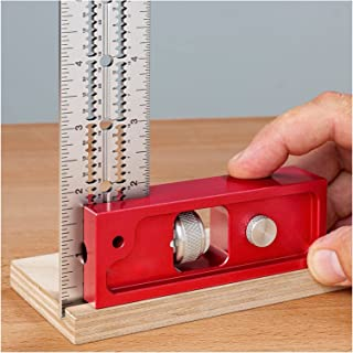 Woodworking Calipers, Indexable Rafters and Combined Square Tool Set Aluminum Die-Casting Carpenter Ruler Combination Adju...