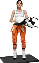 """NECA - Portal 2 - 7"""" Scale Action Figure - Chell with Light-Up ASHPD Accessory"""