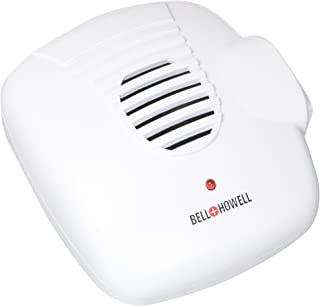 Bell and Howell Ultrasonic Pest Repellers with Extra Outlet - Electronic Pest Control Plug in-Pest Repeller for Insect - Mice, Roaches, Bugs, Fleas, Mosquitoes, Spiders (4 Pack)